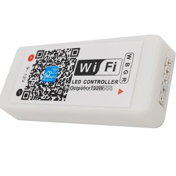 Magic Home MiNi WiFi Vezérlő WiFi RGBW LED Vezérlő DC 12V 4A x 4 CSATORNA 16A 192W a 5050 RGBW LED Csík Szalag